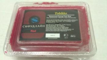 Икра летучей рыбы Тобико красная  470 руб.