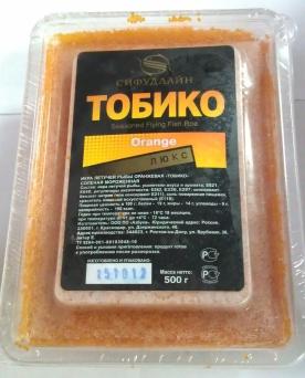 Икра Тобико Люкс оранжевая   470 руб